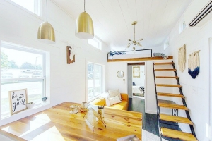 Lamon Luthers Tiny House Giveaway at Mustard Seed Tiny Homes