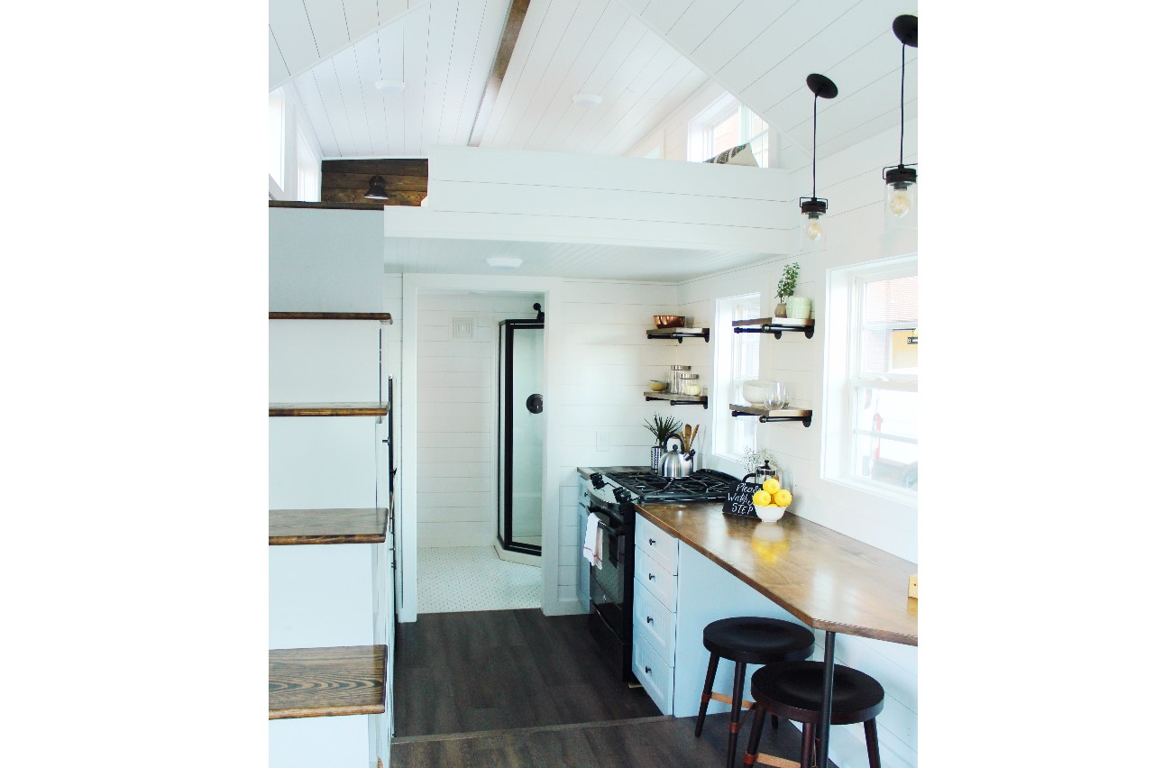 The Sprout from Mustard Seed Tiny Homes - kitchen view