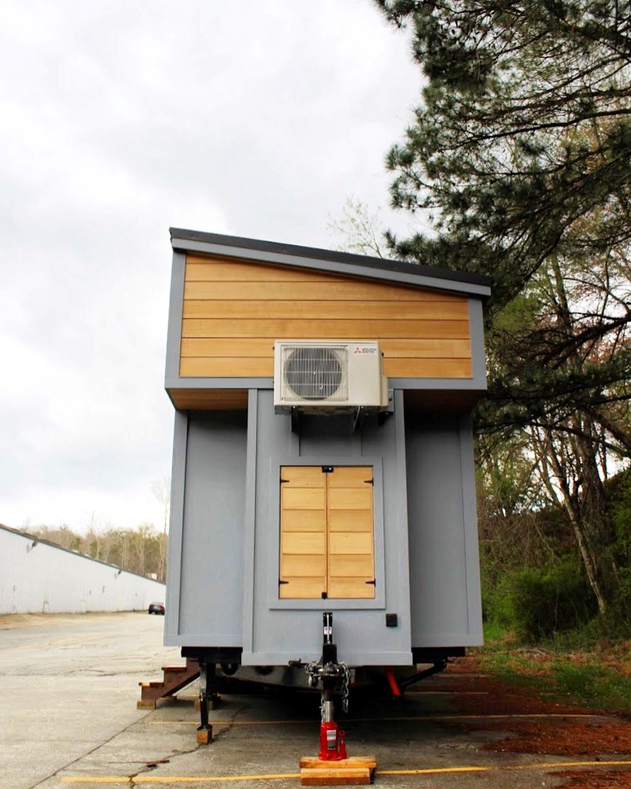 The Juniper Tiny House from Mustard Seed Tiny Homes