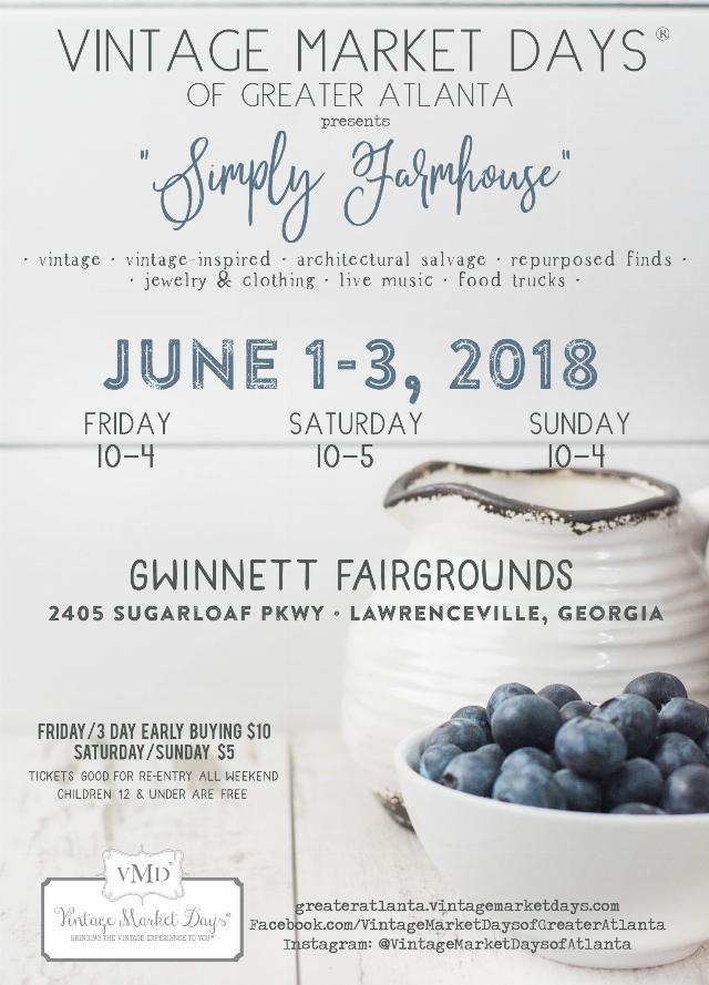 vintage market days with Mustard Seed Tiny Homes