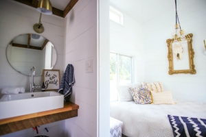 Lamon Luthers Tiny House Giveaway. MustardSeedTinyHomes.com