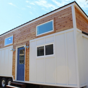 The Everest Tiny House from Mustard Seed Tiny Homes