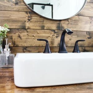 The Sprout from Mustard Seed Tiny Homes - bathroom view