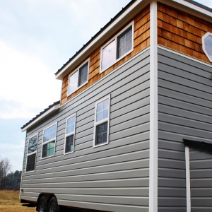 The Sprout from Mustard Seed Tiny Homes - Outside front left view