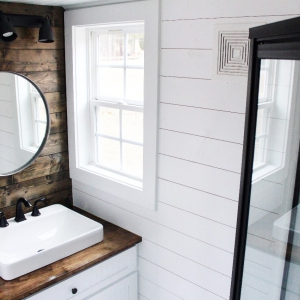 The Sprout from Mustard Seed Tiny Homes - bath view