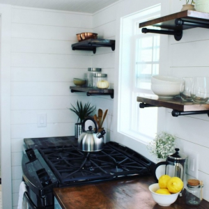 The Sprout from Mustard Seed Tiny Homes kitchen view