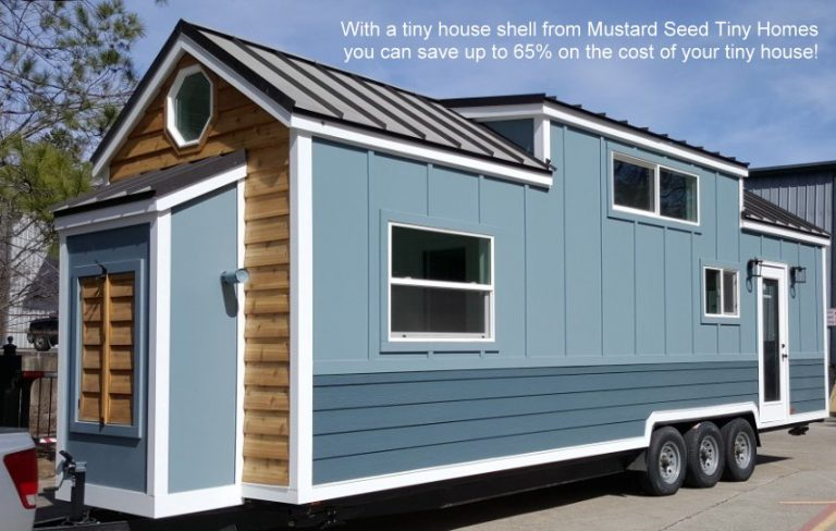 Tiny House Shells from Mustard Seed Tiny Homes