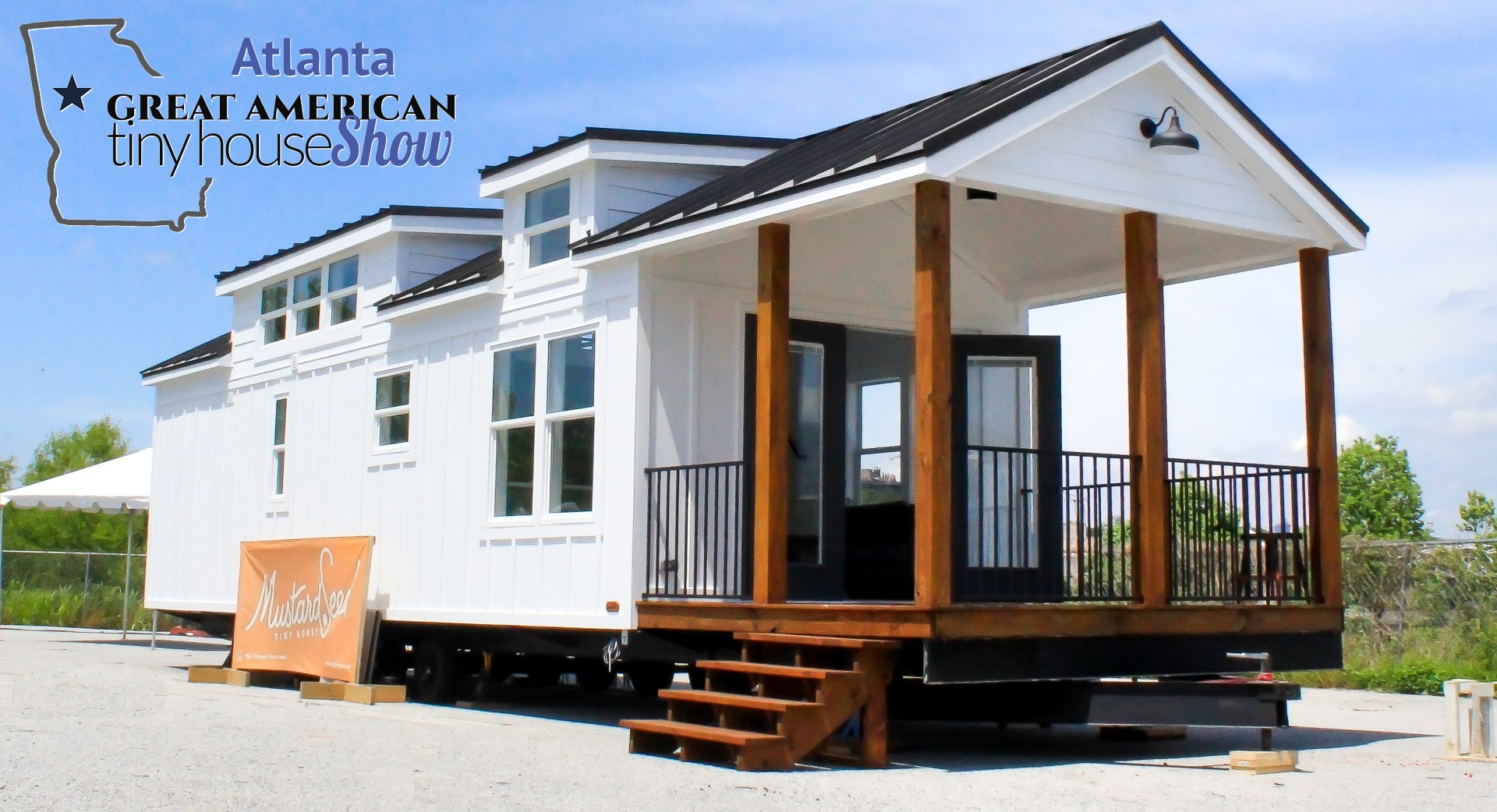 The Zion - Mustard Seed Tiny Homes Edition at Great American Tiny House Show