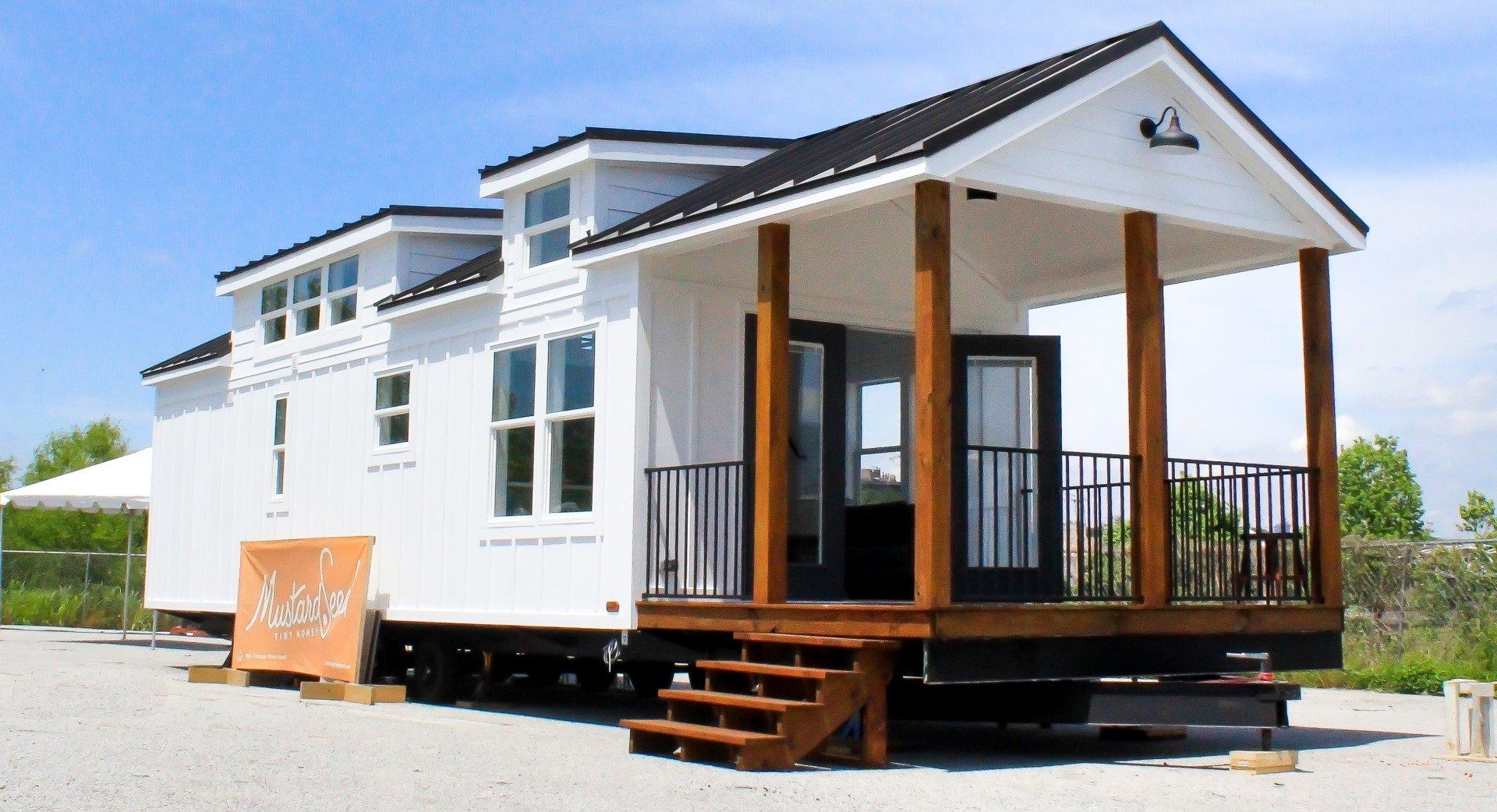 The Zion Park Model Tiny House - Mustard Seed Tiny Homes Edition