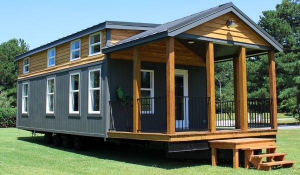 Jackson Park Model Tiny House - Mustard Seed Model Sale
