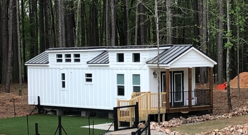 Modular Tiny House from Mustard Seed Tiny Homes