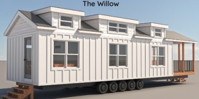The Willow Tiny House from Mustard Seed Tiny Homes